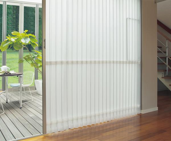 TOSO アコーディオンドア(アコーディオンカーテン) クローザーエクセル シャドー 幅271〜300cm×丈211〜220cm