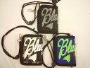 BLUECROSS(ブルークロス)★【セール】紐付きでかロゴ2つ折り財布ウォレット