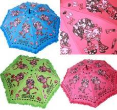 【単品での購入は不可となります】《非売品》RONI商品お買い上げ15000円以上でプレゼント☆ロニィちゃんプリント折りたたみ傘