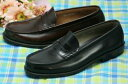 [HARUTA Haruta men business shoes loafer] 906 black brown