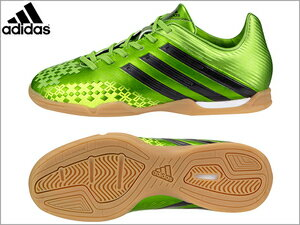 2013 Fall winter new arrival 26% off adidas adidas soccer junior kids Futsal プレデターアブソラド LZ IN J room for training Treaty Q21696 レイグリーン.