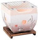 J&Co 日本商會【七輪(大)竹炭付き兎 6733-15小鳥...