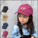 Kids NY Twill Cap(GRIN BUDDY) 帽子 キッズ 子供 男の子 女の子 キャップ 刺繍 ニューヨーク 親子