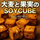ダイエット 食品 菓子「 大麦と果実のソイキューブ 」 大豆 バー おかし おやつ 低カロリー ローカロリー 10P09Jul16