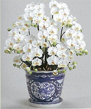 【送料無料】【光触媒】胡蝶蘭S 7本立ち 驚くほど完成度の高い光触媒の造花です。贈答用としても大変喜ばれます。リビングなどのインテリアにおすすめです。