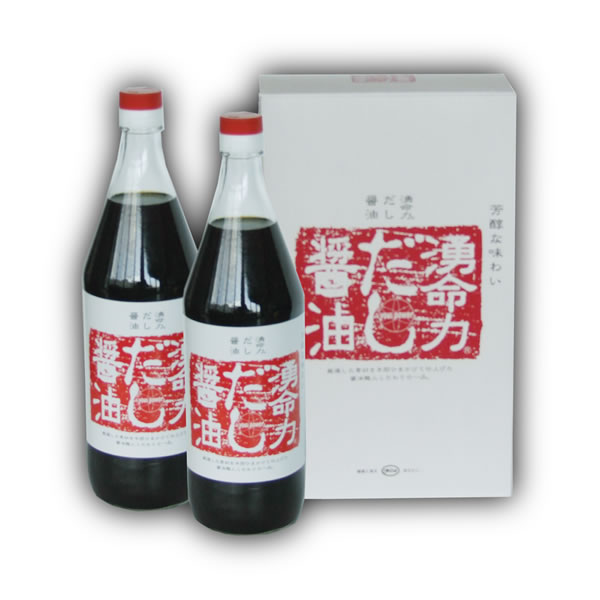 You 湧命力, soup stock soy sauce (900 ml of *2 Motoiri)