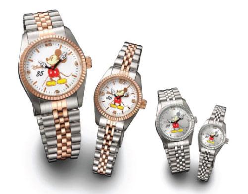 【すぐに使える10%OFFクーポン】85周年記念企画 ディズニープレミアムダイヤ時計【送料無料】ディズニーの85周年を記念して、世界で販売!