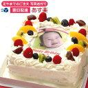 写真ケーキ(四角) 5号 生クリーム【あす楽対応定休日は不可...
