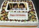 写真をケーキに!!世界にひとつのあなただけのケーキパーティーケーキ 13号