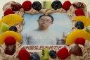 写真ケーキ(四角) 生チョコ 5号 15