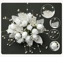 ショッピング壁掛け ミニ花束造花花束【6束】コサージュ,ヘアアクセサリー,壁掛け,結婚装飾用