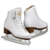 フィギュア・スケート靴・ジャクソン・アーティストプラスセットYTH 白