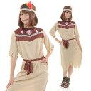 インディアン コスプレ 衣装 民族 コスチューム レディース...