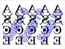ショッピングポートガス ONE PIECE ワンピース ポートガス・D・エース コスプレ用タトゥーシール(腕のみ)