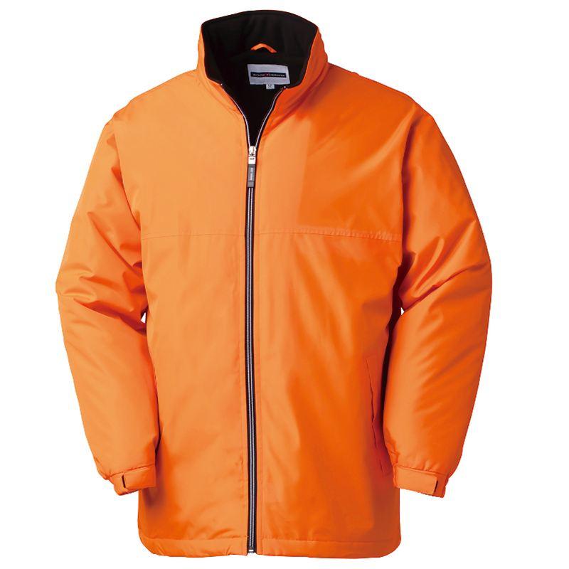 裏フリースで暖かい、軽量で動きやすいハーフコート...の商品画像