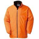 裏フリースで暖かい、軽量で動きやすいハーフコート。今シーズン、レッド&オレンジの新色が登場!