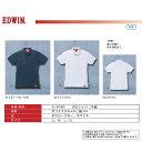 【エドウイン】吸水速乾加工のEDWINの半袖ポロシャツ〈廃番予定〉