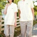 横ポケット付!ケアワーカーのための上質なパステルカラーの半袖ポロシャツ