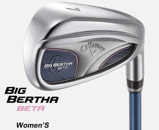 ●キャロウェイゴルフBIG BERTHA BETA 2016 Women's/ビッグバーサー ベータ ウィメンズ アイアン【日本仕様モデル】GP for BIG BERTHA シャフト単品