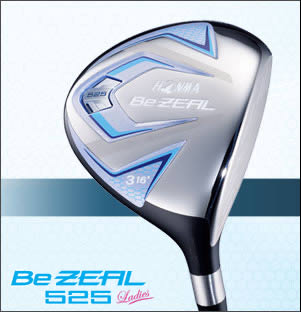 ●ホンマゴルフBe ZEAL 525 Ladies/ビジール 525 レディース フェアウェイウッドVIZARD for Be ZEAL Ladies シャフト