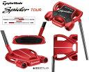 ●テーラーメイド パターSpider TOUR RED Putter/スパイダー ツアー レッド パター[日