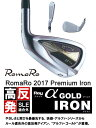 ●RomaRo/ロマロ アイアンRay α Gold IRON[高反発・SLE適合外]レイ アルファ ゴールドRJ-Ti2 Premium Light カーボン...