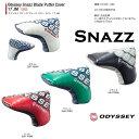 ●2017 オデッセイ パター カバー Odyssey Sbazz Blade Putter Cover 17 JMオデッセイ スナッズ ブレード パター カバー 17 JM