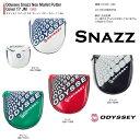 ●2017 オデッセイ パター カバー Odyssey Snazz Neo Mallet Putter Cover 17 JMオデッセイ スナッズ ネオ マレット パター カバー 17 JM