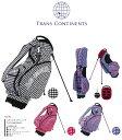 ●TRANS CONTININENTS GOLF/トランスコンチネンツ ゴルフスタンド キャディバッグ TCCB-006