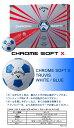 【限定商品】キャロウェイ ボール(2017)CHROME SOFT X TRUVIS WHITE/BLUE/クロム ソフト エックス トゥルービス ホワイト/ブルー ボール 1ダース