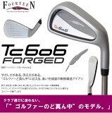●フォーティーン TC606 FORGED アイアンN.S.PRO950GH HTスチールシャフト 6本セット(#5?P)