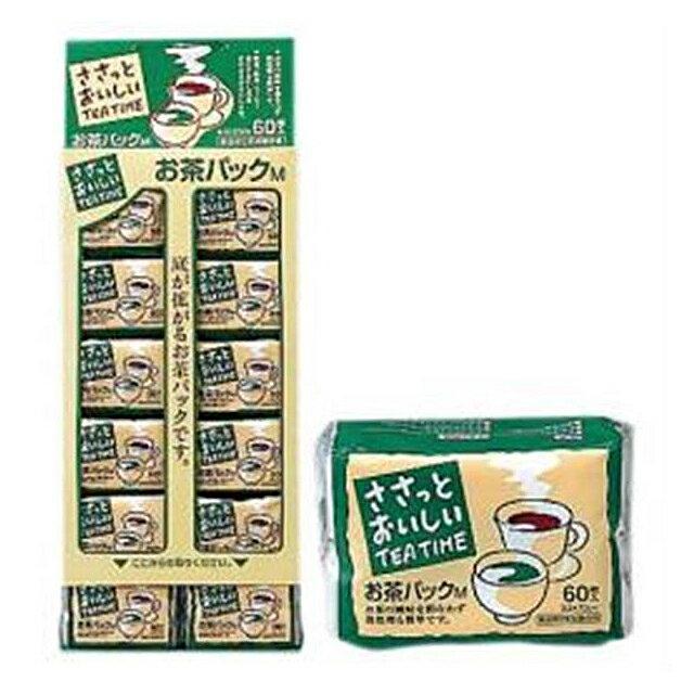 大高製紙株式会社ささっとおいしいお茶パック M60(60パック入り)×12×10台紙 2ケース