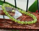 ペリドット ブレスレット| 8月誕生石 |ペリドット 5.5mm ブレスレット 天然石 ブレスレット パワーストーン ブレスレット