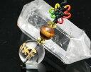 タイガーアイ ストラップ 干支梵字 子・戌・亥 ストラップ 送料無料 水晶 タイガーアイ|水晶 財運アップ 梵字お守りストラップ メール便 送料無料 |天然石|
