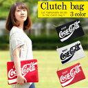 【ネコポス送料無料】 コカ・コーラ クラッチバッグ メンズ レディース かわいい ファッション