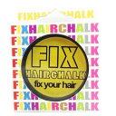 FIX フィックス ヘアチョーク ヘアーチョーク 髪色 1日ヘアカラー 1Day ネオンイエロー(NEON YELLOW) イエロー 黄 メンズ レディース イベント ハロウィン