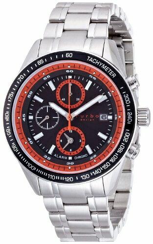 2年保証!フルボデザイン(Furbo Design) 腕時計 FS402SBKOR ソーラー クロノグラフ アラーム MIYOTA(ミヨタ) 日本製【smtb-m】 国内正規品(通常電池交換不要)ソーラー時計!防水