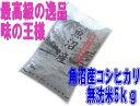 【新米】28年産  魚沼産コシヒカリ 無洗米5kg