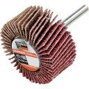 TRUSCO セラミック砥粒フラップホイル 50X25X6 #C60 (5個入) HF5025C-60