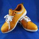 【送料無料】 セーフティーシューズ/安全靴 S-ZERO(エス・ゼロ) ローカットタイプ WORKS HOMME SZ-003 オレンジ