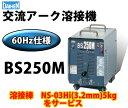 ダイヘン 交流アーク溶接機 BS250M(BS-250M) 60Hz【西日本】