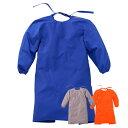 ☆大中産業 フォーテック 袖付きエプロン LLサイズ FAP-501[ブルー] FGAP-504[グレー] FOAP-509[オレンジ] 防炎エプロン 【RCP】