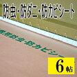 [防虫・防ダニ・防カビシート]6帖用 サイズ 1m×3.8m 3枚入り【日本製】