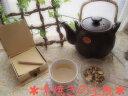 亀甲土瓶(きっこうどびん)【素焼きの土瓶・国産】1.5リットル(茶色)(高級耐熱)(ウチダ和漢薬)