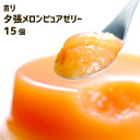 ホリ HORI 夕張メロンピュアゼリー(15個入)