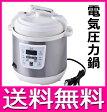 電気圧力鍋 D&S 家庭用マイコン電気圧力鍋 2.5L STL-EC25 【送料無料】