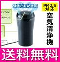 空気清浄機 空気清浄器 CARMATE/カーメイト 車載可 コンパクト PM2.5対応エアクリーナー USB取り付け型 KS628【送料無料】
