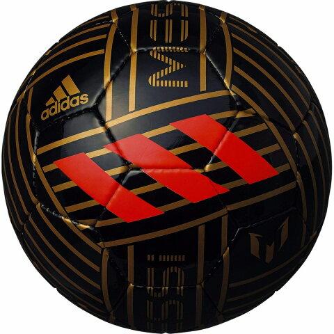 adidas(アディダス) サッカーボール メッシ AF5640ME ブラック×ゴールド  5号 検定球 5号 一般 大学 高校 中学 【送料無料(北海道、沖縄、離島は適用外)】