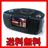 ポータブルDVDプレーヤー 7インチ DVD&CDコンポ高音質スピーカー搭載 ポータブルDVDプレーヤー ZM-7C【送料無料】
