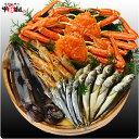 コラボ商品第2弾 実店舗仕様の蟹セット(カニ、スルメイカ、赤えび、ししゃも、ハタハタ)